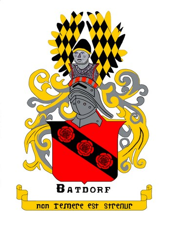 Batdorf coat                   of arms corrected and resized 11/7/2002